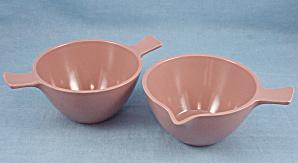 Melmac - Brown - Creamer & Sugar (Image1)