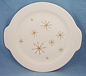 Royal China - Star Glow - Tab Handled Cake Plate