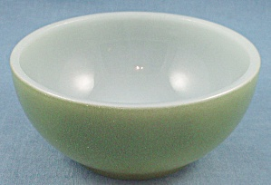 Restaurant Ware � Fire King � Chili Bowl � Green	 (Image1)
