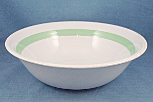 Westwood – Large Fruit Bowl – Green Band (Image1)
