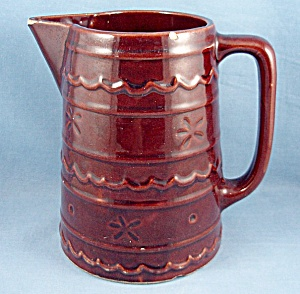 Mar-crest / Dasiy- Dot - Stoneware  / Large Pitcher (Image1)