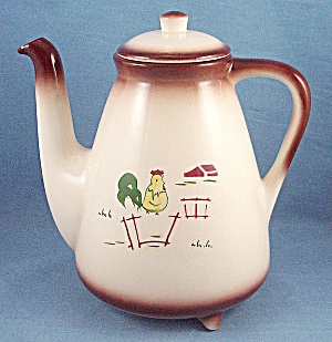 Brock Of California � Coffee Pot  � Country Lane, Brown (Image1)