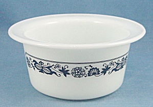 Pyrex - Old Town / Blue Onion - Margarine Dish, Butter Tub