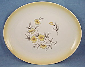 Homer Laughlin �Buttercup � Platter (Image1)
