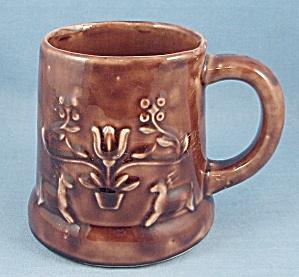 Rockingham Type Pottery Mug -  Figural Mug/Cup (Image1)