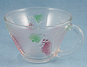 Two Flashed Punch Cups, Crystal	 (Image1)