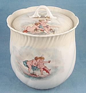 Austria – Biscuit Jar – Cherubs (Image1)