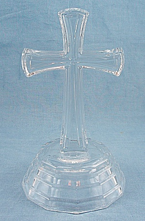 Glass Cross, On Base