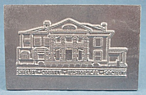 Shelby County (Ohio) Historical Society – Plaque (Image1)