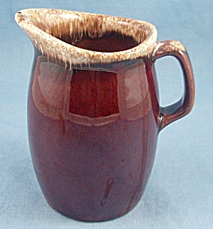Hull - Brown Drip Pitcher - Syrup / Creamer