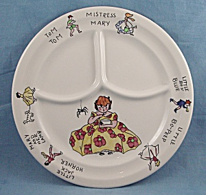 Syracuse � Divided Plate � Nursery Rhyme (Image1)