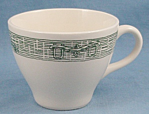 USA - Royal China – Green Tools Edge, Cup – Ox Yoke (Image1)