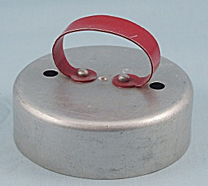 Red Metal Handle / Biscuit & Doughnut Cutter