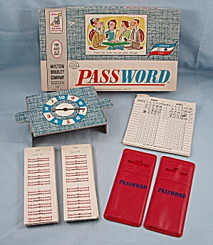 Password Game, Volume 2, Milton Bradley, 1962