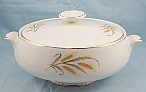 Round Covered Vegetable Bowl � Wheat (Image1)
