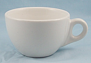 Walker China, Vitrified Cup, All White - Restaurant Ware (Image1)
