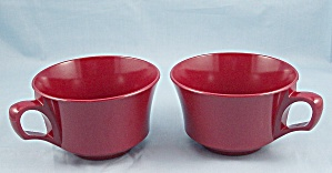 Allied Chemical – Two Cups – Maroon (Image1)