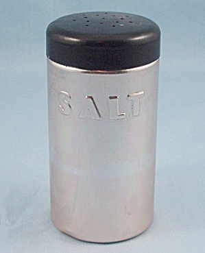 Nasco Italy - Aluminum Salt Shaker, Copper