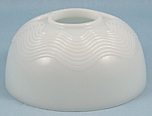 Milk Glass – Oil Lamp Shade (Image1)