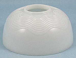 Milk Glass – Oil Lamp Shade (Image1)