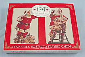 1994 Coke Playing Cards – Christmas / Holiday (Image1)