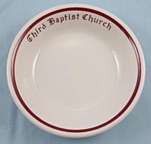 McNicol China – Third Baptist Church – Bowl (Image1)