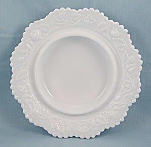 Imperial Glass - Open Rose, Butter Base – Milk Glass (Image1)