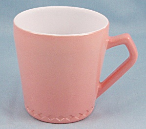 Hazel Atlas – Fired On -  Pink Pastel Mug (Image1)