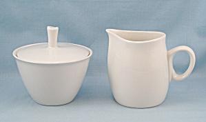 Franciscan � Cloud Nine � Sugar Bowl & Lid / Cream Pitcher (Image1)