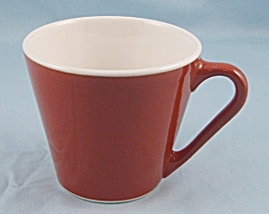 Syracuse China Cup - Stralite, Cinnamon - Coral