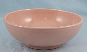Franciscan China – Salmon/ Coral Bowl (Image1)