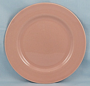 Franciscan China – Salmon/ Coral – Salad Plate (Image1)