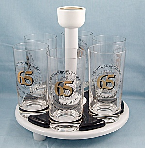 Fuller Brush - 65th Anniversary – Tumbler Set & Holder (Image1)