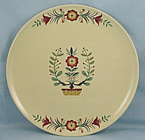 Taylor Smith Taylor - Pebbleford - Dinner Plate - Sunburst - Penna Dutch