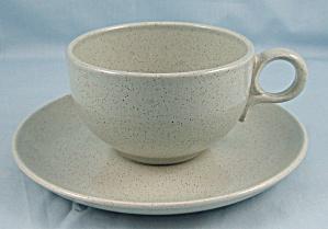 Taylor Smith Taylor – Pebbleford – Cup & Saucer – Granite (Image1)