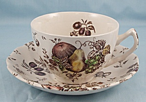 Johnson Brothers � Autumn�s Delight � Cup & Saucer (Image1)