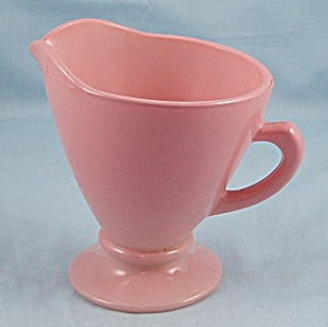 Hazel Atlas – Ovide Pink, Fired On Creamer (Image1)