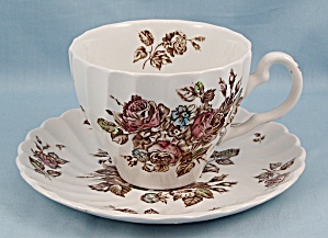Johnson Brothers � Devon Sprays � Cup & Saucer (Image1)