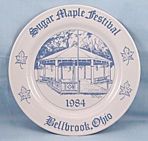 Sugar Maple Festival- Bellbrook, Ohio � Commemorative Plate � 1984/Limited (Image1)