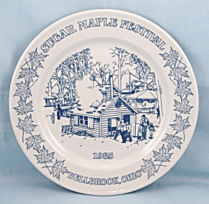 Sugar Maple Festival- Bellbrook, Ohio � Commemorative Plate � 1985/Limited (Image1)