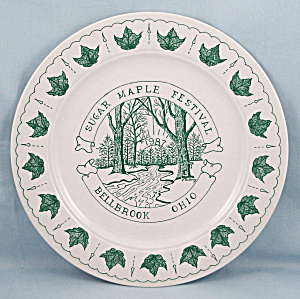 Sugar Maple Festival- Bellbrook, Ohio � Commemorative Plate � 1987 (Image1)