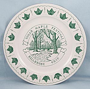 Sugar Maple Festival- Bellbrook, Ohio – Commemorative Plate – 1987 (Image1)