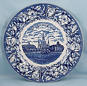Staffordshire Ware - Souvenir/ Collector Plate- Jackson Square, New Orleans, Louisiana (Image1)