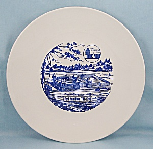 Fort Hamilton 1791-1796 - Collector/ Souvenir Plate