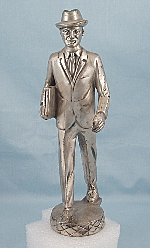 Metal Salesman Figurine (Image1)