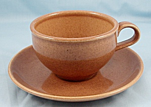 Russel Wright – Casual -Apricot - Iroquois – Cup & Saucer (Image1)