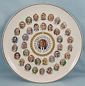 1789- 1977 � Presidents Plate, Featuring Jimmy Carter (Image1)
