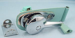 Swing-a-way - Model 42 - Turquoise Wall Hanging Can Opener