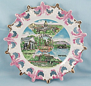 State Of Georgia - Mij - Collector/ Souvenir Plate