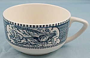 Royal Usa - Currier & Ives, Blue - Cup